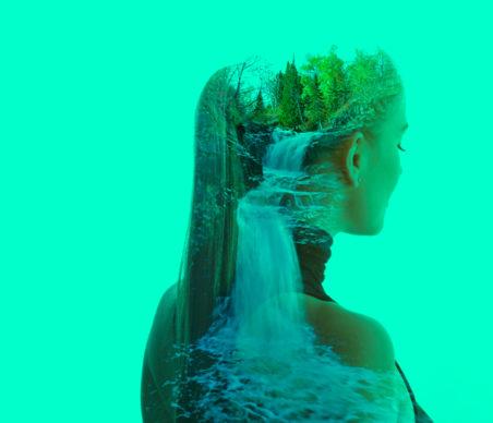 Cachoeira de pensamentos